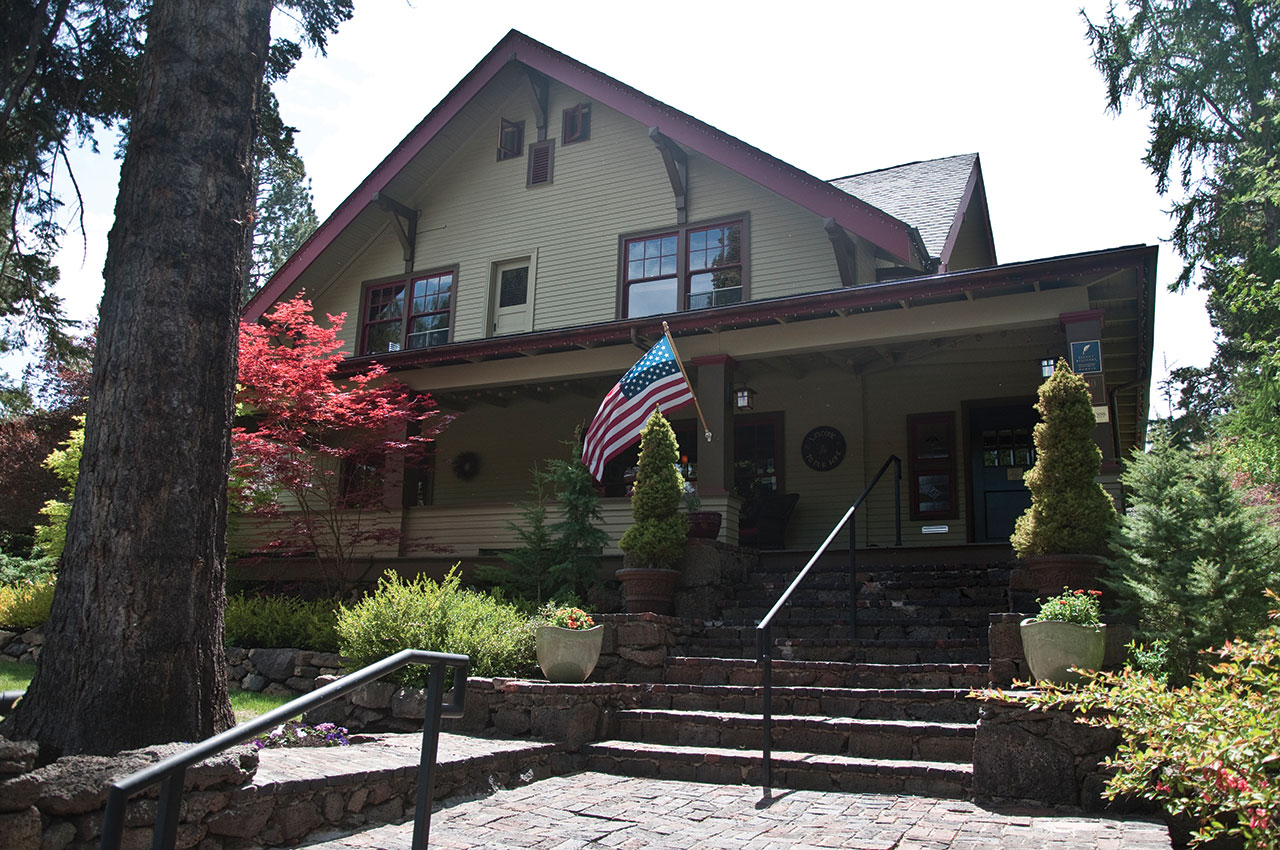 The Lara House Bed and Breakfast is in the city's Drake Park Historic District.